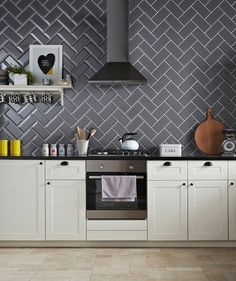 Love This For The Tiles At This Angle This Colour For Kitchen Or White For