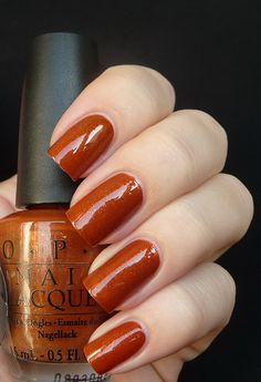 OPI Bronzed To Perfection nail polish