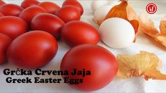 Greek Easter, Egg Dye, Easter Traditions, Easter Colors, Easter Eggs, Onion, The Creator, Vegetables, Youtube