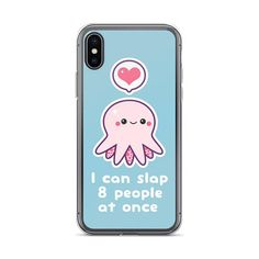 Funny Octopus iPhone 8 and 8 Plus Case Cute Phone Cases