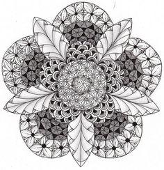 Preto e branco, aquarela, arte mandala, modelos de zentangle, desenho de ma Mandala Art, Mandalas Painting, Mandalas Drawing, Zentangle Drawings, Doodles Zentangles, Mandala Pattern, Mandala Design, Wallpaper Iphone Marble, Wallpaper Rose Gold