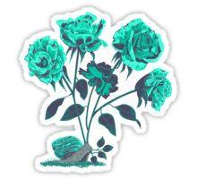 Snails N' Roses Sticker