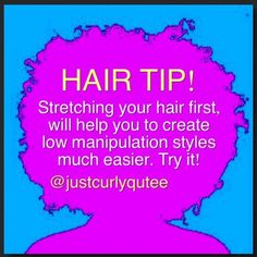 Hi ladies!   Today, I'm gonna be sharing some natural hair tips that would help you along your journey. Courtesy @justcurlyqutee   Enjoy!  ...