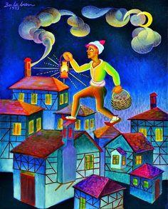 Bu artist, painter İbrahim Balaban, from Turkey Balance Art, Digital Illustration, Miniatures, Turkey, Paintings, Oil, Illustrations, Art, Kunst