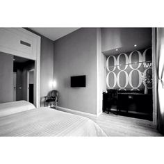 Black&White Hostel, Black And White, Mirror, Furniture, Home Decor, Decoration Home, Black N White, Room Decor, Black White