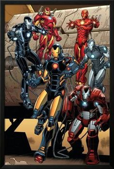 Lamina Framed Poster: Iron Man #15 Featuring Iron Man by Carlo Pagulayan : 38x26in