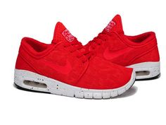 pretty nice 29bc8 2e11d Nike SB Stefan Janoski Max Light Crimson White Mens Womens Shoes,Nike SB  Stefan OnSale