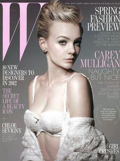 Carey-Mulligan-W-magazine-January-2012-cover