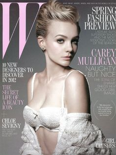 Carey-Mulligan-W-magazine-January-2012-cover