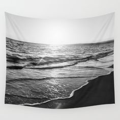 Available in three distinct sizes, our Wall Tapestries. Beach, ocean, sea, landscape, black and white, black, white, water, summer, summertime, sky, sunset, sunrise, photo, pic, picture, SEA SHORE, SHORE, FOAM, WAVES, photograph, photography, Nikon, dslr, camera, sunset, blue, sand, exposure, explore, Cyprus, love, nature, natural, sky, pink, interior design, designer, photographer, home decor, decoration, decoracao, decorate, wall art, art print, duvet , bedroom, living room, home…