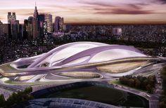 新国立競技場 #Art #Design #Architecture #ZahaHadid