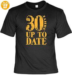 Geschenk T-Shirt zum 30.Geburtstag : 30 Jahre up to Date -- Goodman Design Geburtstag 30 Geschenk Gr: 5XL Farbe: schwarz - Shirts zum 30 geburtstag (*Partner-Link)