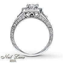 Neil Lane Bridal® 14K Gold 1 3/8 Carat t.w. Diamond Ring