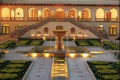 Taj Rambagh Palace Hotel, Jaipur, India