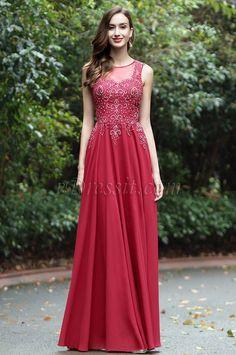 eDressit Burgundrot Herz Ausschnitt Spitze Formell Kleid(36170417)