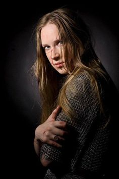Masha Scream (Arkona) Pagan Music, Scream, Female Armor, Back In Time, Metalhead, Rock And Roll, Divas, Beautiful, Warrior Women
