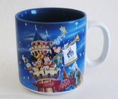 Disneyland Years of Magic 1955 to 1990 Ceramic 10 oz Coffee Mug cup