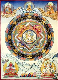 White Tara Mandala (source: ebay.com) (со страницы buddhabe)