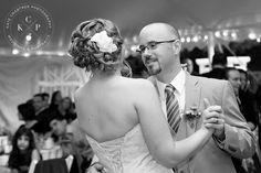 Side wedding updo