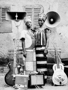 Fotografía de Seydou Keita en los años 50-60. #Mali