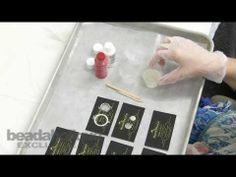 How to Add Opaque Pigments to 2-Part Resin by Becky Nunn