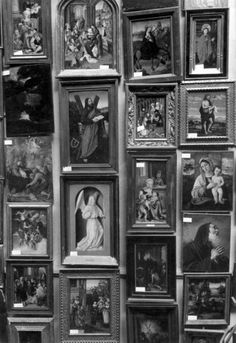 1950. Art confiscated by the nazi's during the occupation were returned from Germany in 1950. The art was exhibited at the Rijksmuseum in Amsterdam where owners were given the opportunity to reclaim their possesions. #amsterdam #1950 #Rijksmuseum