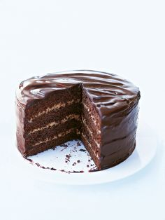mocha chocolate layer cake