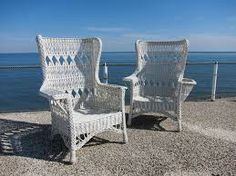 Rattan Wing Back Chairs - Google Search