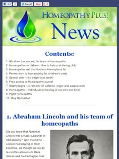 Latest News from Homeopathy Plus - 14.2.13