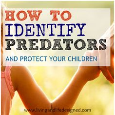 GREAT article about Red Flags, how predators work and how to keep you children safe. We're going to use these tips and talk to our children about making a safety plan.