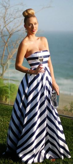 Everyday New Fashion: The Striped Gown
