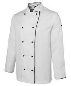 Embroidered workwear Perth is an amazing way of introducing your business to the world. A chef uniform is one of the better-recognized uniforms among several professions. However, each component of the chef uniform holds significance. Embroidered Workwear, Cafe Uniform, Checked Trousers, Mandarin Collar, Shirt Jacket, Double Breasted, Work Wear, Chef Jackets, Unisex