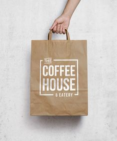 The Coffee House & Eatery logo by Lucia Sancho: