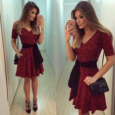 """Blog Trend Alert no Instagram: """"{Saturday} Vestido @luziafazzolli ❤️ • #lookdodia #lookoftheday #ootd #selfie #blogtrendalert"""""""