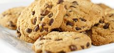 No-Sugar-Added Chocolate Chip Cookies - kidney friendly recipe. Just remember to eat them in moderation. Too much chocolate = higher Phosphorus levels! Davita Recipes, Kidney Recipes, Diabetic Recipes, Baby Food Recipes, Cookie Recipes, Diet Recipes, Kidney Foods, Kidney Health, Sugar Free Chocolate Chips