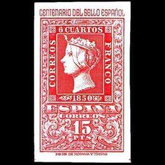1950, 12 de octubre, Centenario del Sello Español