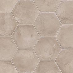 Marca Corona - Terra - Grigio - Page 1 Hex Tile, Ceramic Floor Tiles, Hexagon Tiles, Bathroom Floor Tiles, Porcelain Tile, Stone Tiles, Bathroom Cabinets, Outdoor Kitchen Countertops, Kitchen Flooring