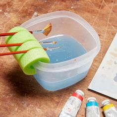 25 Pool Noodle Hacks That Will Improve Your Life is part of Crafts - Those colorful foam pool toys are useful all around the house and with a few tweaks, pool noodles can be even MORE fun in the water Diy And Crafts, Crafts For Kids, Arts And Crafts, Summer Crafts, Kids Diy, Decor Crafts, Craft Room Decor, Easy Crafts, Craft Room Design