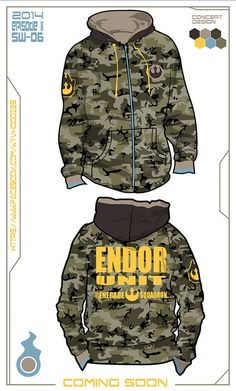 Forest moon of Endor Hoodie Concept Buy the real hoodie today @  https://www.etsy.com/shop/WYVHOODIES  #StarWars