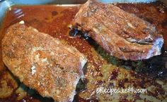 Spareribs before cooking on the grill