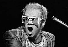 Sir Elton John - love the man and his music - but I love his glasses more! :))