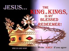 Amen!!   Give Him glory and honor!!! Willine & Annette