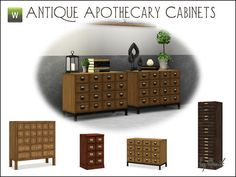Gosik's Antique Apothecary Cabinets