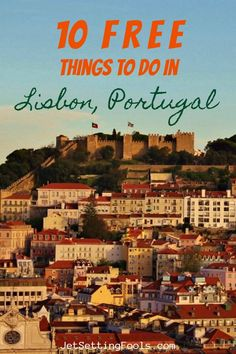 Visiting Lisbon on a budget? The city may not be as affordable to travelers as it once was, but there are still many inexpensive and free things to do in Lisbon, Portugal.