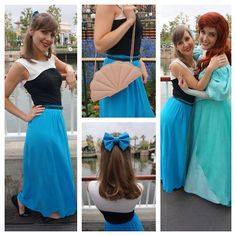 Ariel- dress up as characters in subtle ways!