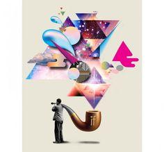 Imaginary Foundation Triangulation Art Print - Art - Store