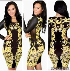 Online Shop 2014 Rushed New Natural Vestidos Free Shipping Women Dress  Fashion Sexy Luxury Nightclub Dress Print Party Long Sleeved Lace 94ceaa049