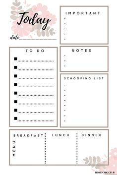 A Proven Way To Turn Your Dreams Into Reality & Free Planner printables