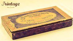 Cheira bem!...caixa de Sabonetes Glicerina. A Perfumista Porto.
