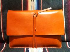 Personalized Hand Stitched Notebook Case - Leather. $99.00, via Etsy.